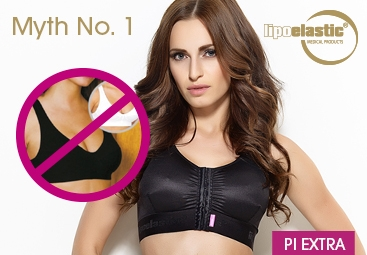 Augmentation myth No.1: It is enough to wear a sport bra after augmentation.