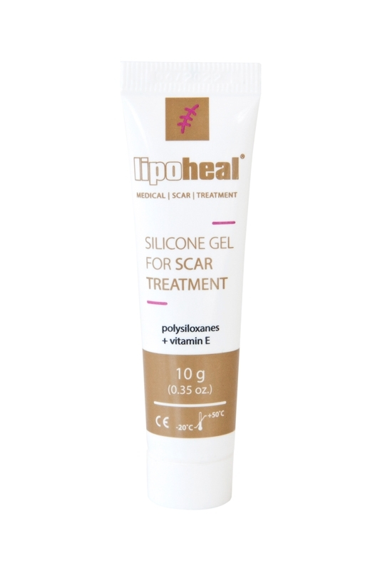 LIPOHEAL silicone gel for scar removal