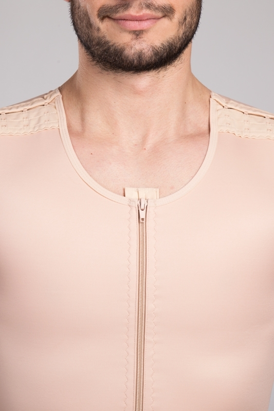 Men compression body suit MGmm Comfort | LIPOELASTIC