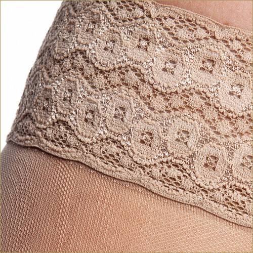 140 DEN Smooth Compression Thigh-high stockings