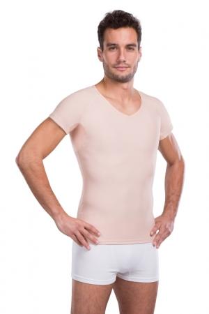 Mens slimming shapewear T-shirt  | LIPOELASTIC