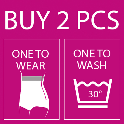 or hygienic reasons, you should have one garment to wear while the other is being washed.